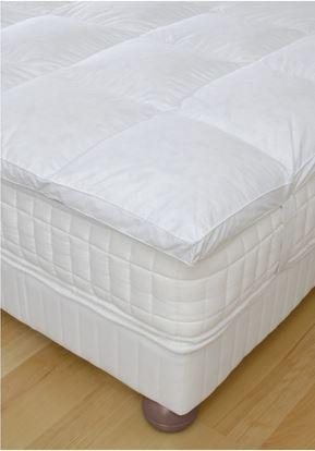 surmatelas en duvet pyrenex sur rennes compagnie de la literie. Black Bedroom Furniture Sets. Home Design Ideas
